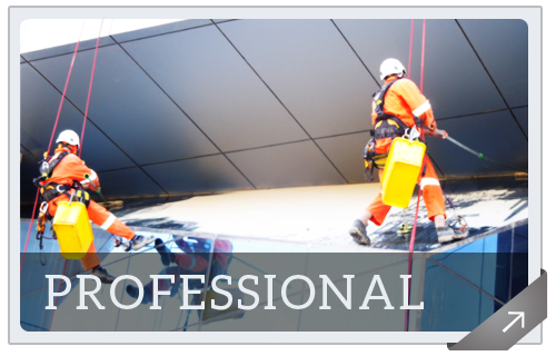 Rope Access Cleaning in UAE